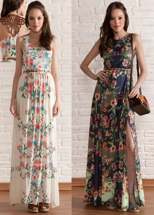 Como Usar Vestido Estampado Com Cinto Drika Sa Blog